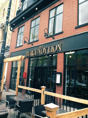 montreal burgundy lion pub