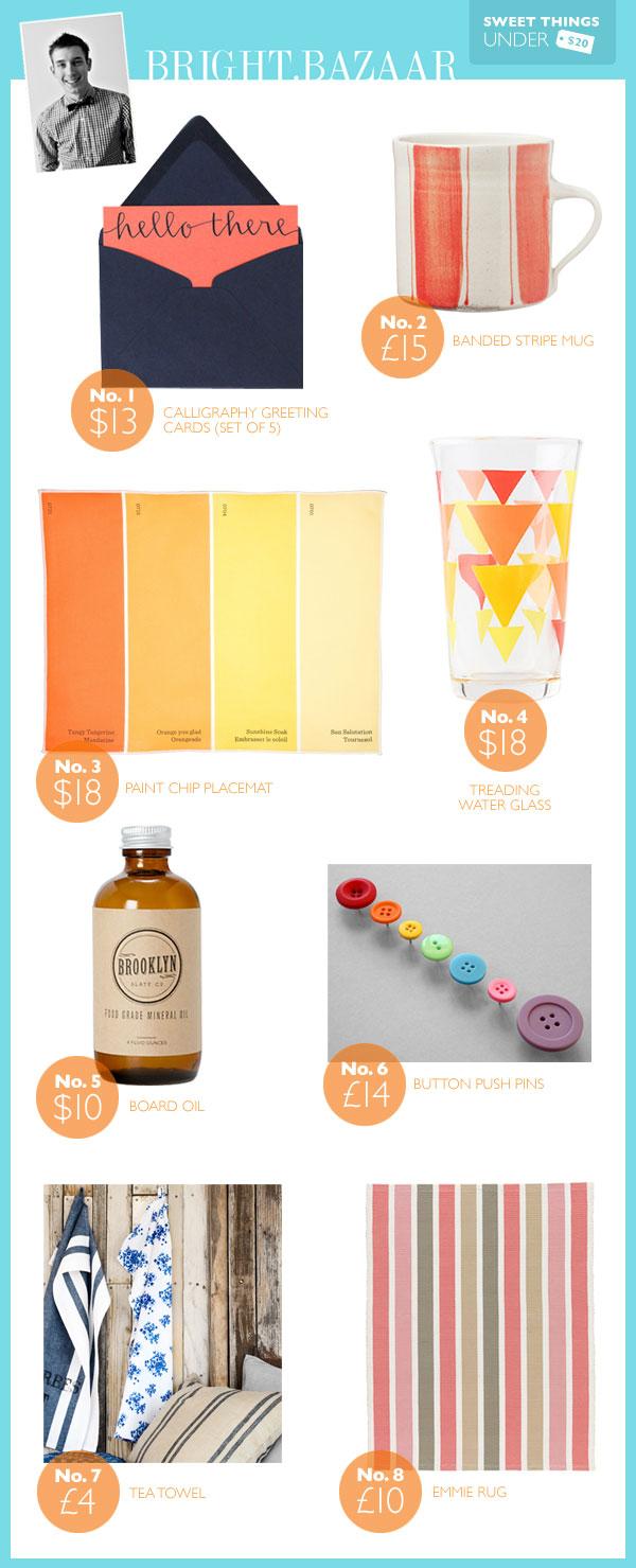 Sweet Things Under Twenty - Bright Bazaar