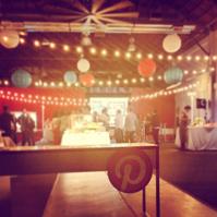 pinterest party entrance