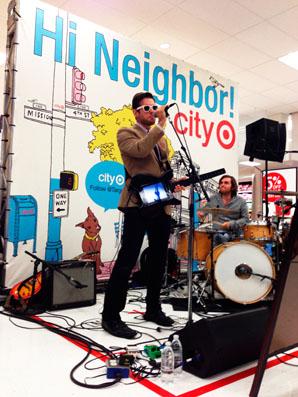 target sf live band
