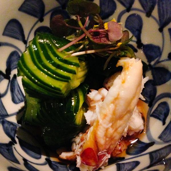 izakaya yuzuki dungeness crab salad